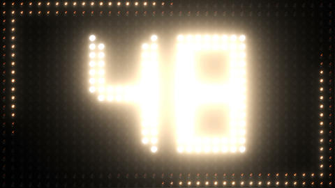 Countdown Lights Counter Floodlight Led Timer Bild