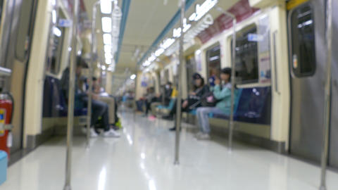 MRT coach defocused Live Action