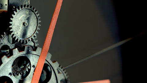 Rusty Retro Mechanic Clock Gears 영상물