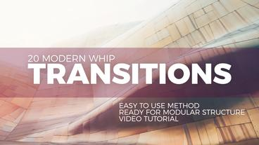 Modern Whip Transitions Premiere Pro Template