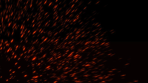 Abstract background with fire sparks Footage