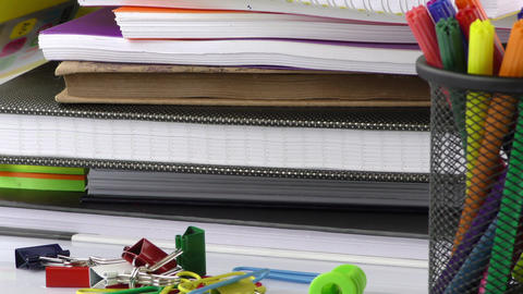 School Education or Office Work Equipment Tools Filmmaterial