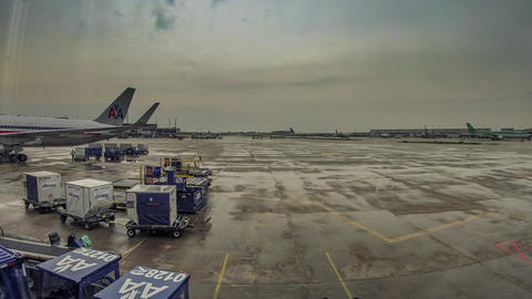 Chicago O Hare Airport Timelapse Footage