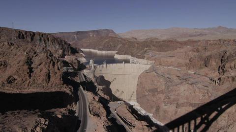 Hyperlapse Hoover Dam shot 26 Footage