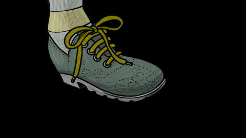 Shoe stamp Animation