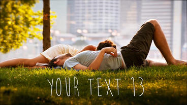 Love Story Slideshow After Effects Templates