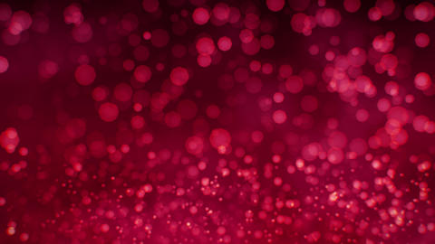 Red animated Bokeh background Animation