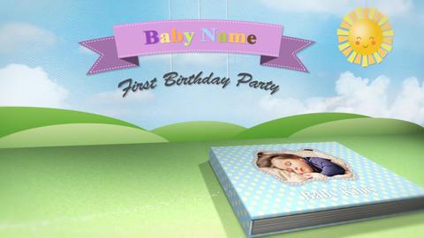Baby pop up book - 2