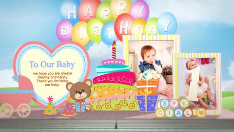 Baby pop up book - 9