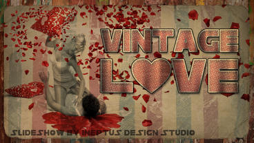 Vintage love Apple Motion-Vorlage