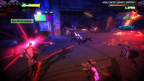 Bright and dynamic gameplay of PC game - Yaiba Ninja Gaiden Z Footage