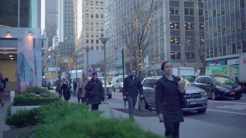NYC street Footage