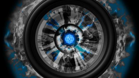 Shockwave Kaleido and Speakers Animation