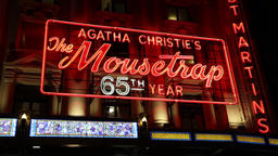 Agatha Christie's The Mousetrap St Martin's Theatre London UK Image