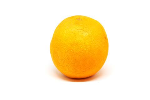 Fresh orange isolated on the white background Photo