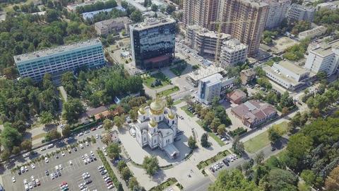 The military council of the Holy Prince Alexander Nevsky. City of Krasnodar, Footage