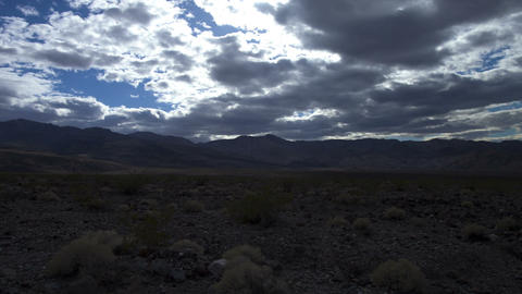 Death valley clouds Footage