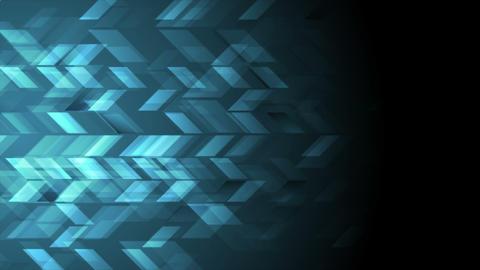 Dark blue tech geometric video animation Animation