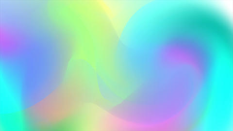 Holographic trend 80s colorful abstract video animation Animation