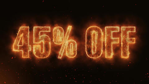 45% OFF Word Hot Burning on Realistic Fire Flames continuous seamlessly loop Animation