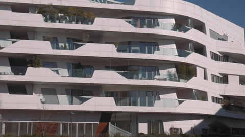 Milan City Life residential buildings Live Action