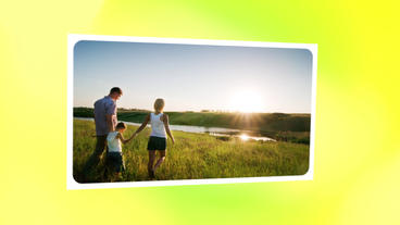 Slideshow Family day Template After Effect