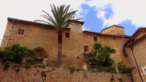 Romantic small spanish village Live Action