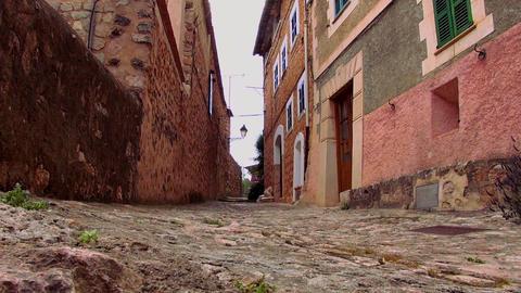 Colorful spanish village Live Action
