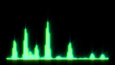 HD wave form 01 Animation