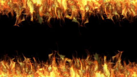 Flame frame CG動画