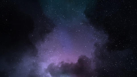 Space Background Loop Animation