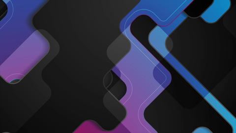 Dark blue purple abstract tech corporate motion design Animation