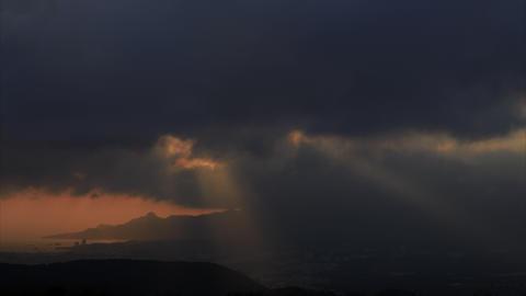 Time lapse cloud Sky Okinawa Footage
