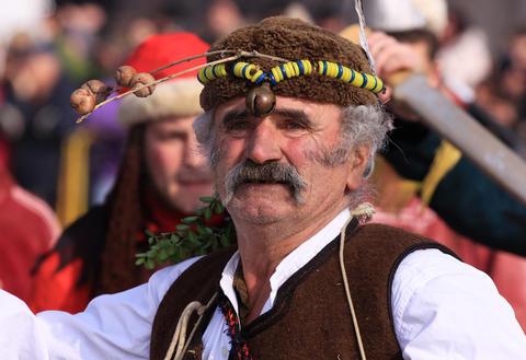 Kuker festival Pernik, Bulgaria Fotografía