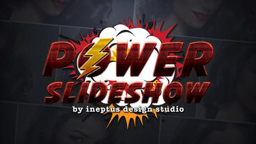 Power slideshow Apple Motion-Vorlage