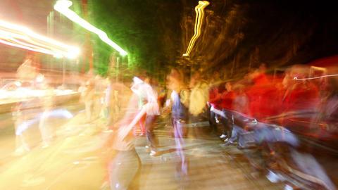 Music festival streetside Footage