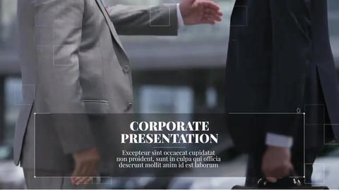 New Line - Corporate Presentation After Effects Template