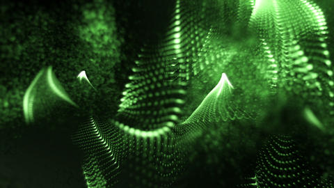 Abstract green Form Background Animation