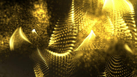 Abstract yellow Form Background Animation