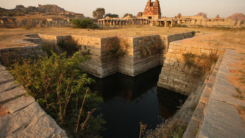 Temple Hampi India Footage