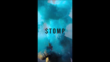 Dynamic Stomp Logo Plantilla de After Effects
