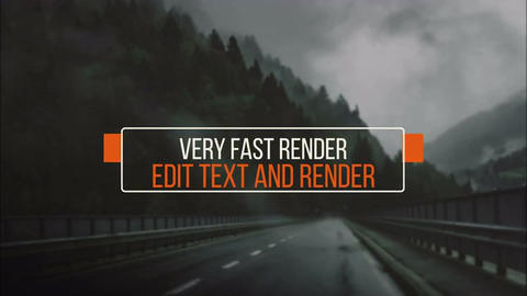 15 Modern Minimal Titles After Effects Template