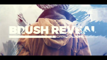 Brush Reveal After Effects Template