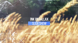 Ink Parallax Slideshow Premiere Pro Template