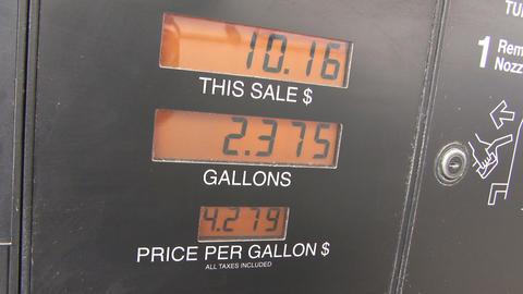 Rising gas price Footage