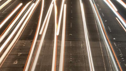 Speedway car lights Footage