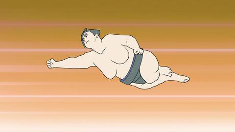 ダイナミック相撲(背景) 動画素材, ムービー映像素材