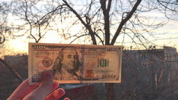 One Hundred Dollars and The Sun Image