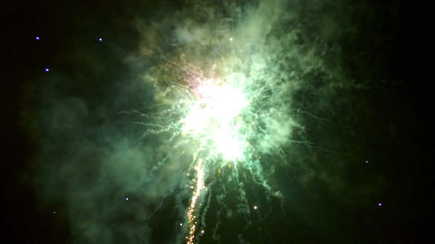 Beautiful fireworks video in celebration day, loop Footage