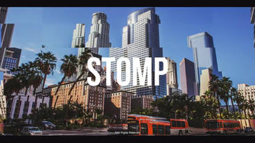 Stomp Logo After Effectsテンプレート